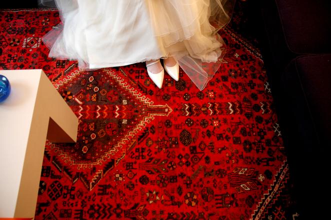 Rug for wedding