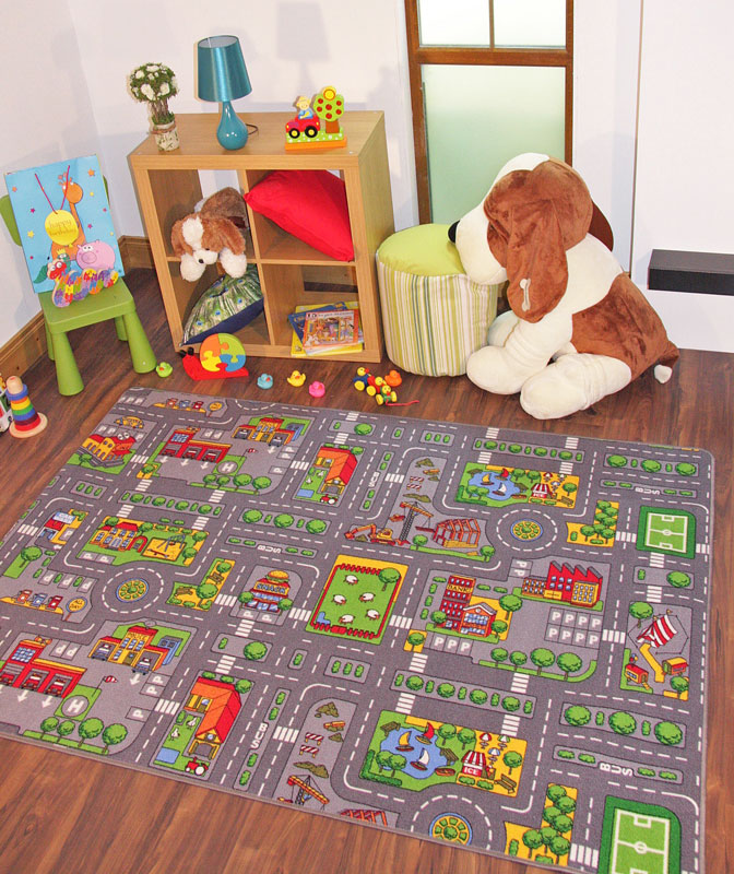 Colorful Rooms With A View: The Ultra Colorful And Beautiful Kids Room Rugs